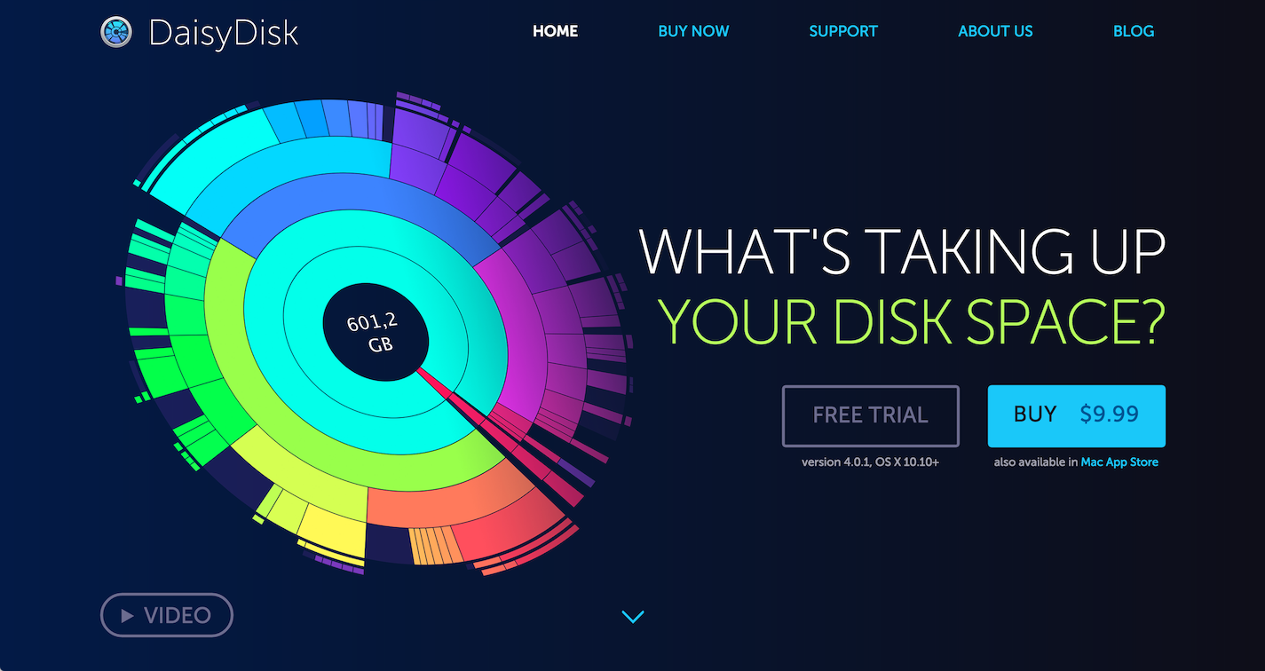 Blog | DaisyDisk - Analyze disk usage and free up disk space